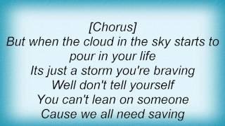 Jon Mclaughlin - We All Need Saving Lyrics
