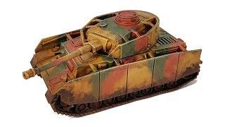 How I Paint Things - Tank Camo (No Airbrush!)