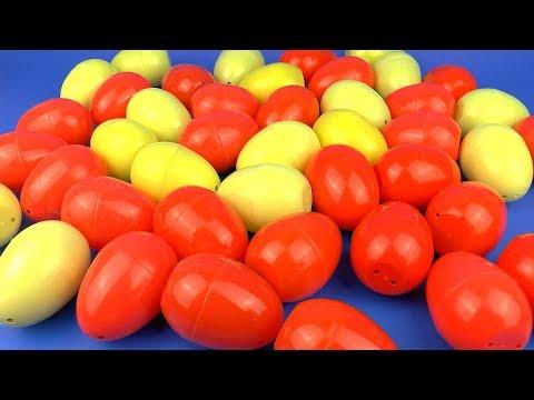Целая Куча Сюрпризов и Игрушек для Детей Surprise Eggs Toys for Kids видео