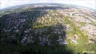 Waalwijk zuid oost vanuit de lucht
