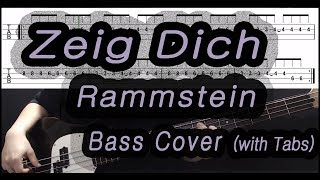 Rammstein   Zeig Dich (Bass Cover With Tabs)