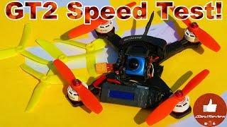 ✔ Квадрокоптер Diatone GT2 - GPS Speed Test! 5040\45\46 Props!