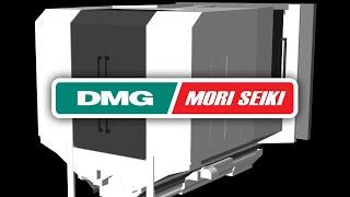 DMGMORI NH6300 Machine Tool CNC Simulation With NCSIMUL