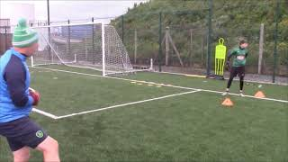 Shot Stopping Big Lead Step & Footwork