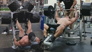 Brad Castleberry Will Never Stop With Fake Weights!