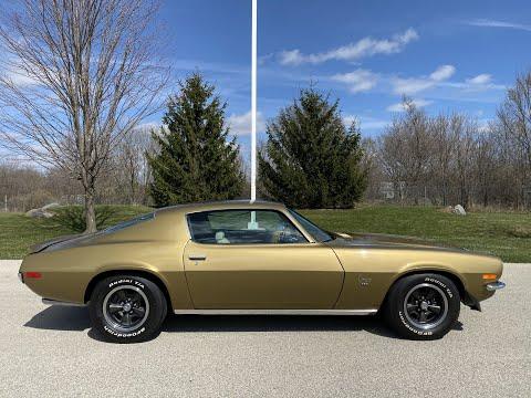 1970 Chevrolet Camaro in Big Bend, Wisconsin - Video 2