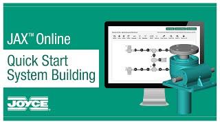 JAX® Online System Designer – Quick Start Four-Jack System