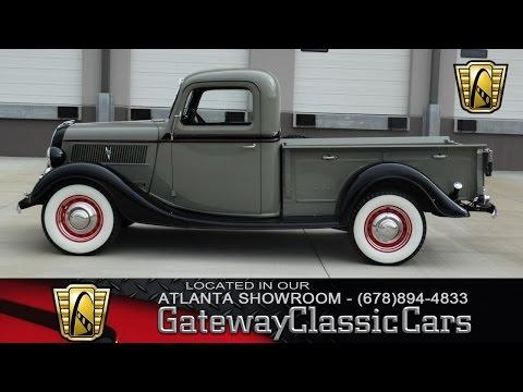 1937 Ford Pick Up Truck - Gateway Classic Cars of Atlanta #300