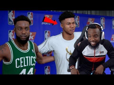 Me & Giannis Choosing Our All-Star Line-Up! NBA 2K19 MyCareer Ep 114