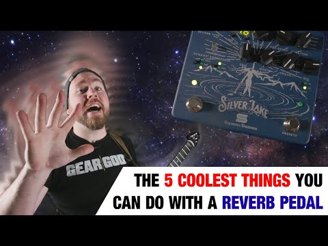 The 5 Coolest Things You Can Do With A REVERB Pedal! | GEAR GODS