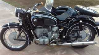 1965 BMW R60 with Side Car For Sale