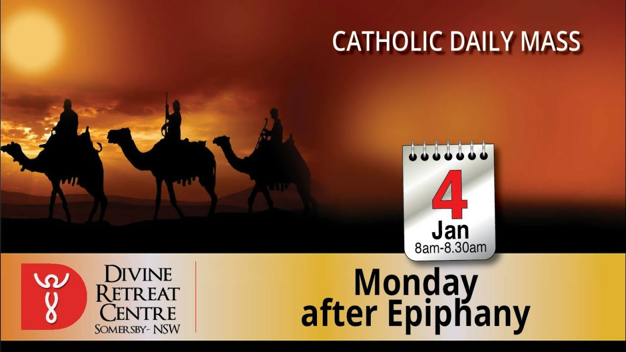 Catholic Mass Online 4th January 2021 from Divine Sydney Australia