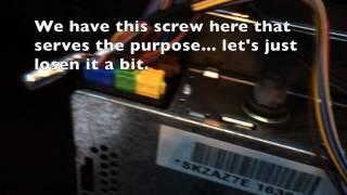 Dension Gateway Lite BT installation on Skoda Superb (2005)