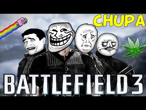 Battlefield 3 - #02 - CHUPAR UM CÚ  =D! (Ft Tydus,Pirr4lhow,Nerd)