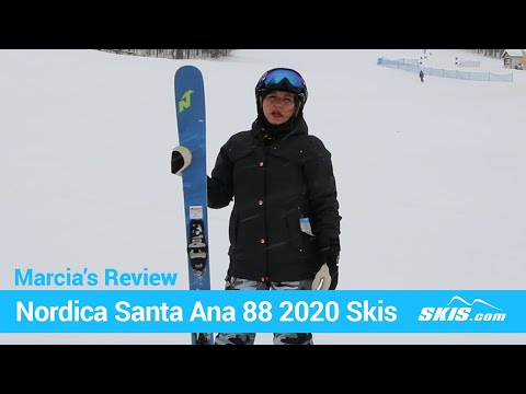 Video: Nordica Santa Anna 88 Skis 2020 14 40