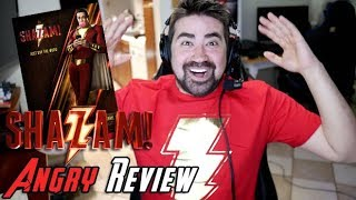Shazam! Angry Movie Review [No Spoilers!]