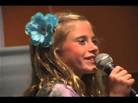 Kylie Quisenberry 2012 Jr. Idol Contestant