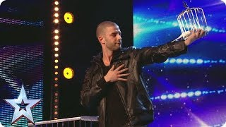 Darcy Oake pulls a birdcage from NOWHERE | Britain's Got Talent Unforgettable Audition - Video Youtube
