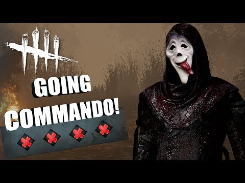 GOING COMMANDO! | Dead By Daylight GHOSTFACE GAMEPLAY (PTB)