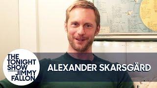 Alexander Skarsgård Fought A Dragon That Knows Witchcraft