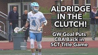 CBA 8 Shore Regional 7 | SCT Semifinals | Kyle Aldridge GW Goal