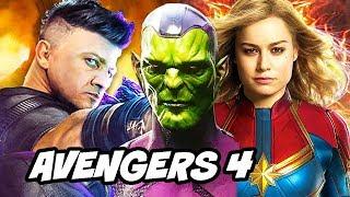 Captain Marvel Avengers 4 Secret Invasion News Explained