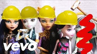 Fifth Harmony - Work From Home (A Monster High Stop Motion) DOLL PARODY