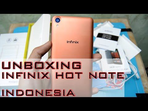Unboxing Infinix Hot Note Indonesia (Juragan Tekno)