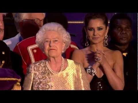 The Queen's Diamond Jubilee Concert �inale & speech] - 4th June 2012 [Historical Speeches TV]
