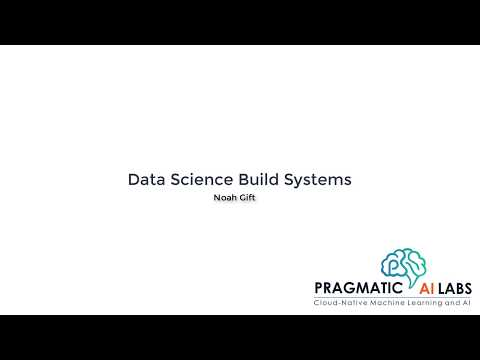 Data Science Build Systems