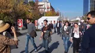preview picture of video '2013-10-28 Pristina pedestrian zone'