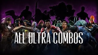 Killer Instinct All Season 1 and 2 Ultra Combos on Correct Stages  60fps