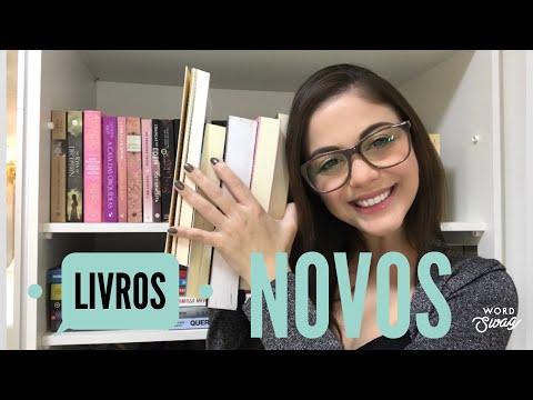 LIVROS NOVOS PARTE 1 - UNBOXING