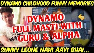 Dynamo Funny Childhood Talk With Alpha Clasher And Gaming Guru, Dynamo Gaming Talking About Taiwan