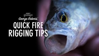 Some great tips courtesy of Fox Rage on how to fish soft