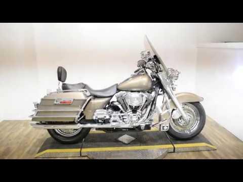 2005 Harley-Davidson FLHR/FLHRI Road King® in Wauconda, Illinois - Video 1
