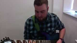 Gareth Walton - Shayne Ward - 2nd Audition - Fake - Guitar