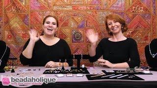 Beadaholique Live Class: Statement Jewelry With Swarovski Crystal Fancy Stones