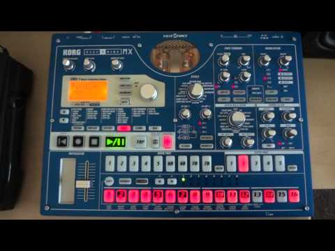 ORIGINAL TECHNO on Korg EMX-1 Skywalkman-GB - Reborn