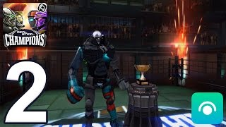 Real Steel Robot Boxing Champions - Gameplay Walkthrough Part 2 - Region 1 Completed (iOS, Android)