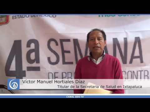 Arranca la 4º Semana de Protección contra Riesgos Sanitarios en Ixtapaluca