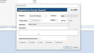 Manage Engineering Change Requests in SOLIDWORKS PDM