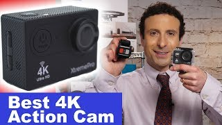 How to use the 4k Action Camera Tutorial! (Re-uploaded