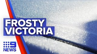 Melbourne experiences coldest night in decade | 9 News Australia