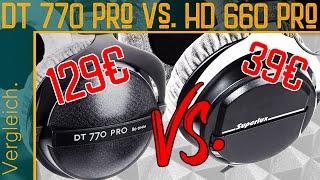 Superlux HD660 Pro vs  Beyerdynamic DT770 Pro