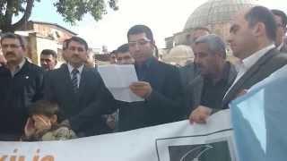 preview picture of video 'Anadolu Gençlik Derneği Kilis Şubesi Basın Açıklaması'