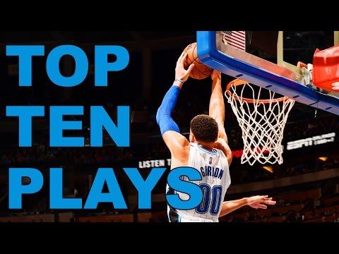 Top Ten NBA Plays Of The Night  | 01.20.17