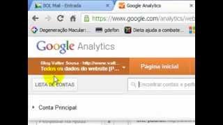 Como inserir seu site, blog ou aplicativo no Google Analytics