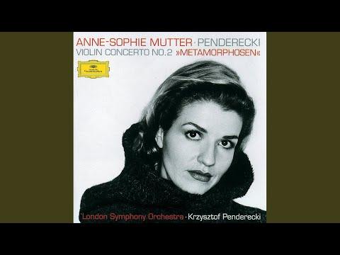Penderecki: Metamorphosen, Konzert für Violine und Orchester Nr. 2 - 2. Allegretto