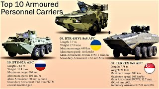 Top 10 Armoured Personnel Carriers | 10 Most Powerful APC's in the World (2020)